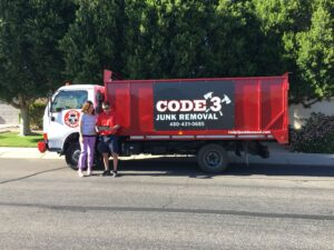 Code 3 Junk Removal with Customer