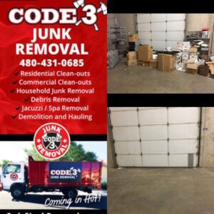 Storage Unit Clean Out in Mesa