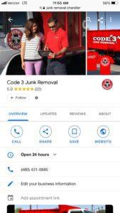 Google Business Information