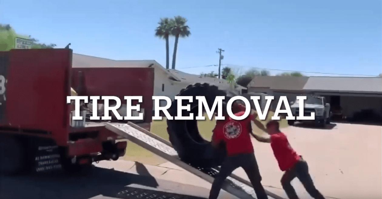 Tire Pickup & Haul Away in Phoenix